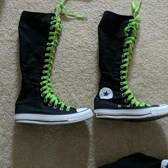 long converse laces